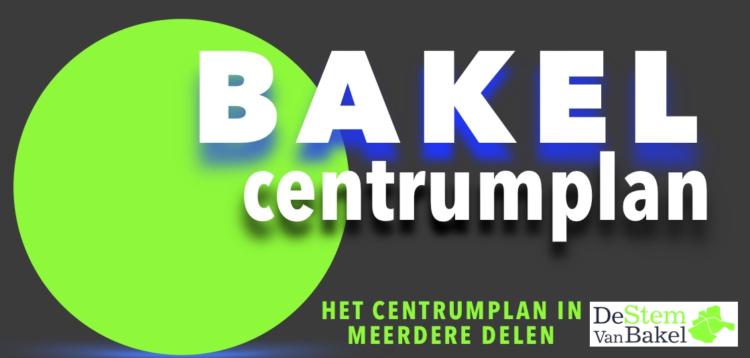 Het centrumplan in meerdere delen